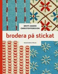 bokomslag Brodera på stickat