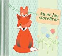 bokomslag Nu är jag storebror : en fyll-i-bok om att få syskon