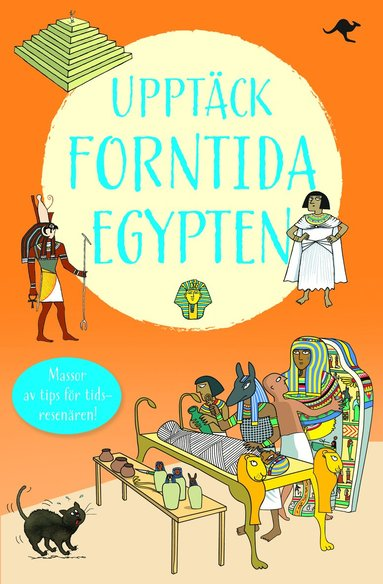 bokomslag Upptäck forntida Egypten : en reseskildring av Merymin
