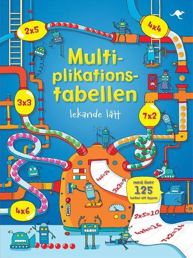 bokomslag Multiplikationstabellen lekande lätt