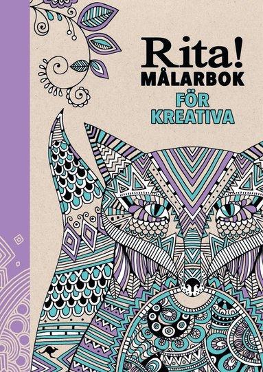 bokomslag Rita! : målarbok för kreativa