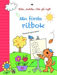 bokomslag Min första ritbok : Rita, sudda, rita på nytt