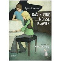 bokomslag Det lilla vita pianot (tyska)