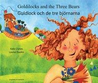 bokomslag Guldlock och de tre björnarna (engelska och svenska)