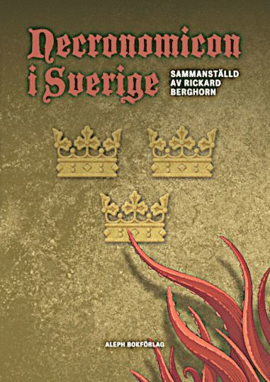 bokomslag Necronomicon i Sverige
