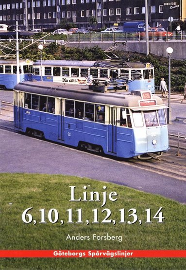 bokomslag Göteborgshäfte - Linje 6, 10, 11, 12, 13, 14