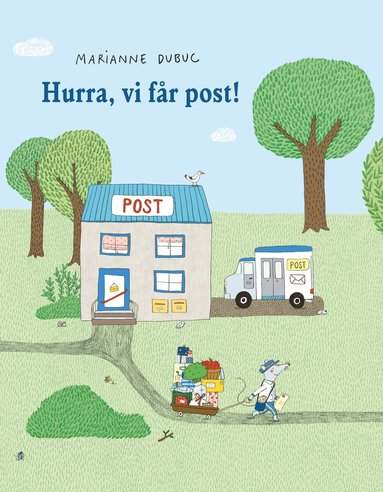 bokomslag Hurra, vi får post!