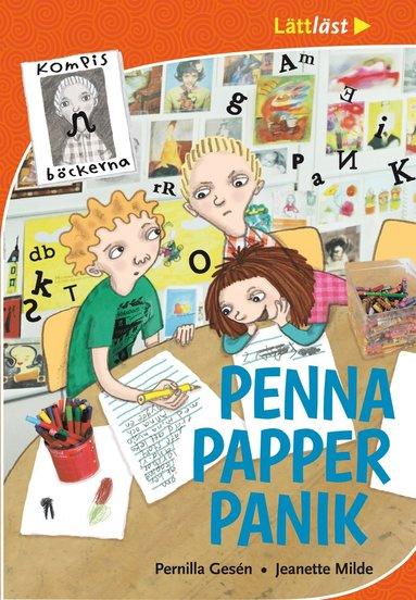 bokomslag Penna, papper, panik
