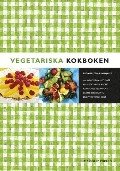 bokomslag Vegetariska kokboken