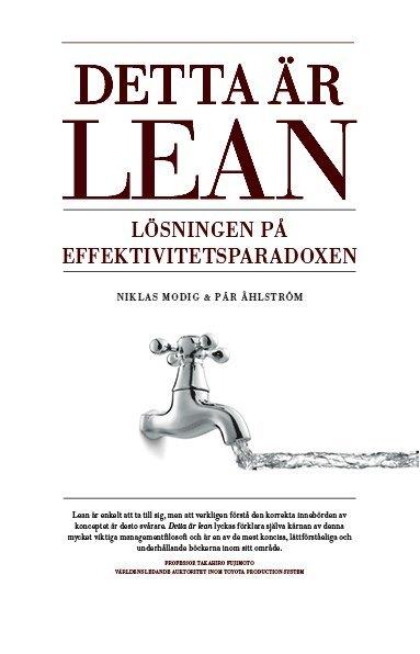 bokomslag Detta är Lean : lösningen på effektivitetsparadoxen