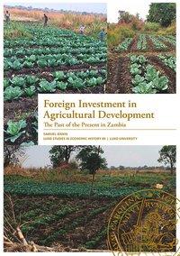 bokomslag Foreign Investment in Agricultural Development