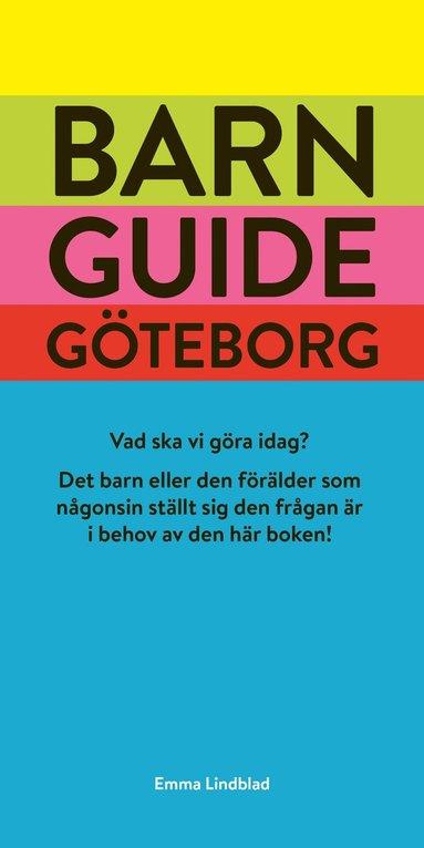 bokomslag Barnguide Göteborg