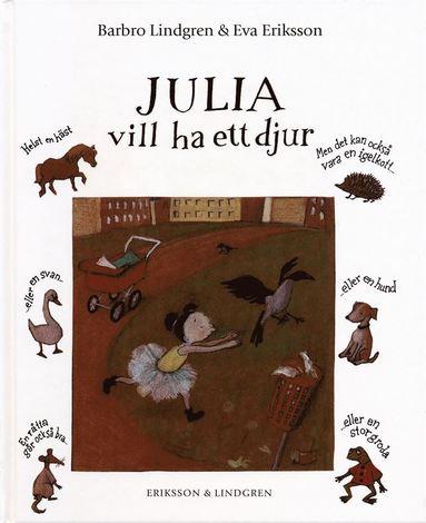 bokomslag Julia vill ha ett djur