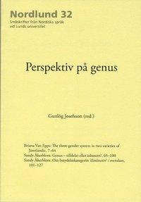 bokomslag Perspektiv på genus
