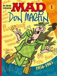 bokomslag MAD. De största tecknarna Vol 1, Don Martin 1956-1965