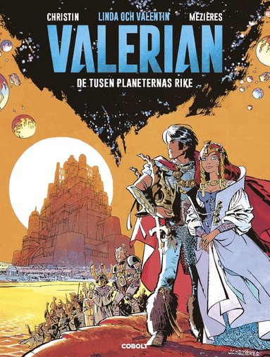 bokomslag Linda och Valentin. Valerian, De tusen planeternas rike