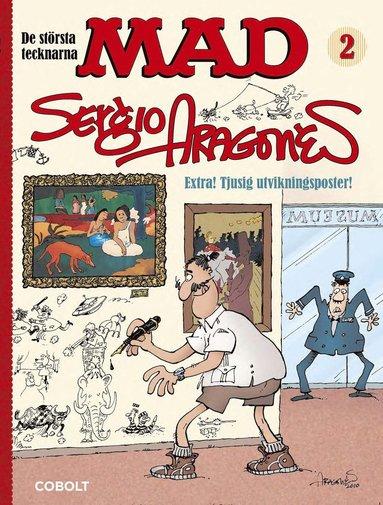 bokomslag MAD. De största tecknarna 2, Sergio Aragonés
