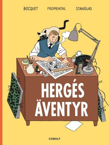 bokomslag Hergés äventyr