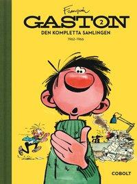 bokomslag Gaston. Den kompletta samlingen, Volym 2 1962-1966 : skämt nr 225-427