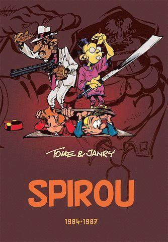 bokomslag Spirou 1984-1987