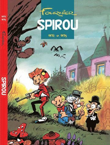bokomslag Spirou 1972-1975