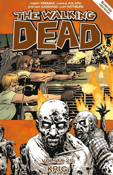 bokomslag The Walking Dead volym 20. Krig