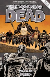 bokomslag The Walking Dead volym 21. FRED