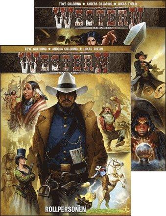 bokomslag Western Paket Grundbok I & II