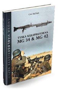 bokomslag Tyska kulsprutorna MG 34 & MG 42
