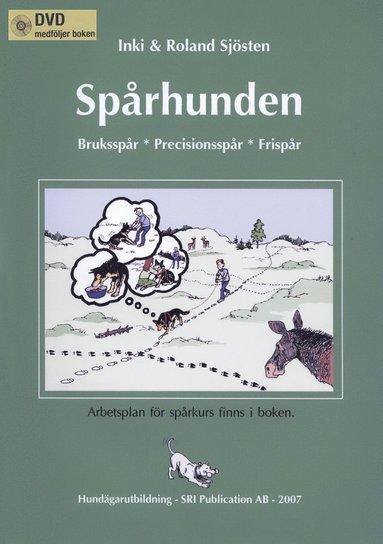 bokomslag SPÅRHUNDEN med DVD Appellklass Spår