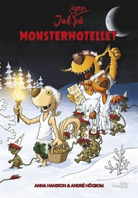 bokomslag Jul igen på Monsterhotellet