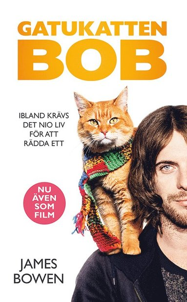 bokomslag Gatukatten Bob Filmomslag