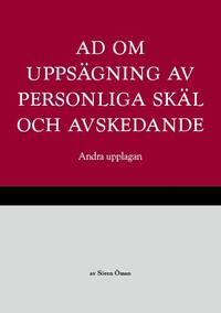 bokomslag AD om uppsägning av personliga skäl och avskedande