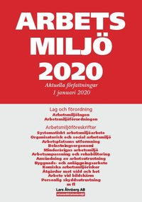bokomslag Arbetsmiljö 2020 : Aktuella författningar 1 januari 2020