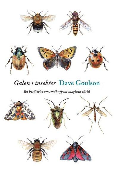 bokomslag Galen i insekter : en berättelse om småkrypens magiska värld