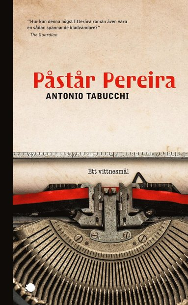 bokomslag Påstår Pereira