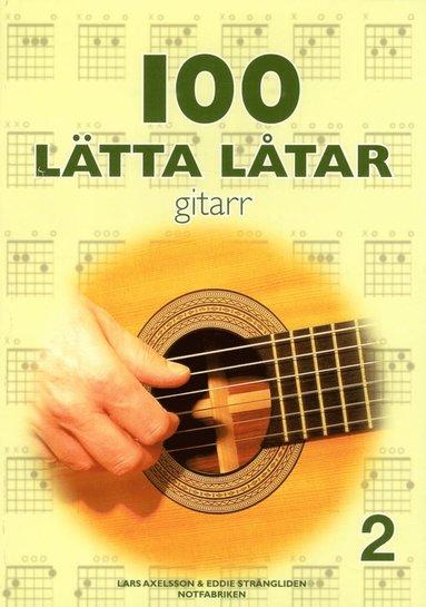 bokomslag 100 lätta låtar gitarr 2