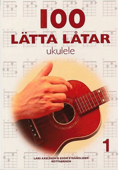 bokomslag 100 lätta låtar ukulele 1