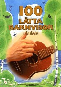 bokomslag 100 lätta barnvisor ukulele