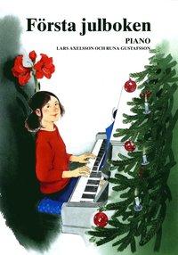 bokomslag Första Julboken Piano