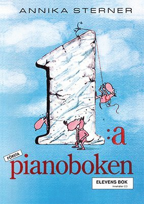 bokomslag Första Pianoboken inkl cd