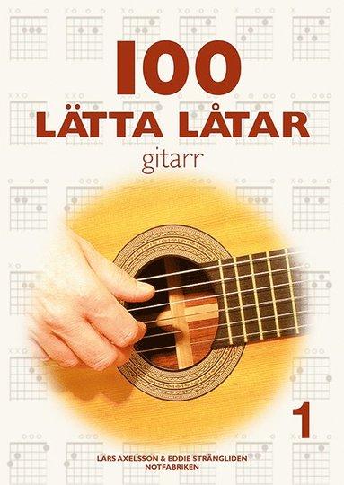bokomslag 100 lätta låtar gitarr 1