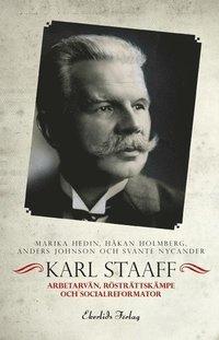 bokomslag Karl Staaff : arbetarvän, rösträttskämpe och socialreformator