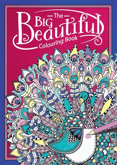 bokomslag The Big Beautiful colouring book