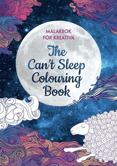 bokomslag Målarbok för kreativa : the can´t sleep colouring book