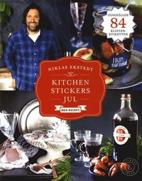 bokomslag Kitchen Stickers Jul med recept
