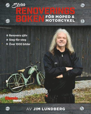 bokomslag Stora renoveringsboken för moped och motorcykel