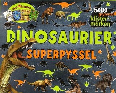 bokomslag Dinosaurier : superpyssel
