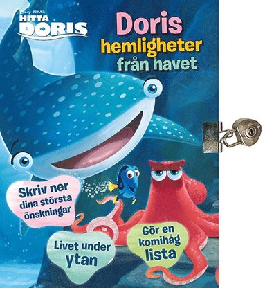 bokomslag Hitta Doris. Doris hemligheter från havet