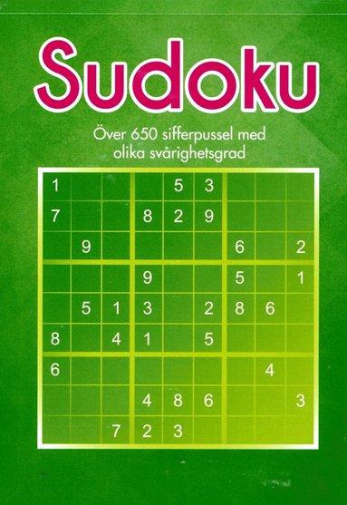 bokomslag Sudoku : över 650 sifferpussel med olika svårighetsgrad